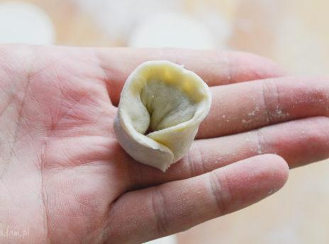 wigilijne uszka z grzybami