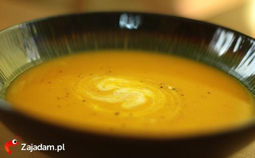Zupa z dyni - orientalny krem