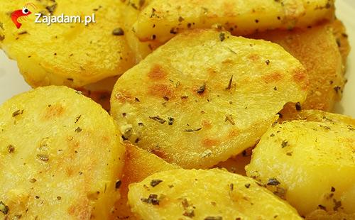 pieczone ziemniaki smażone