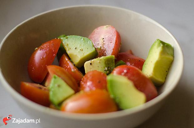 fast slow food pomidory awokado