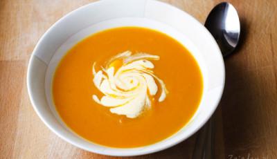 zupa krem dyniowa marchewkowa przepis