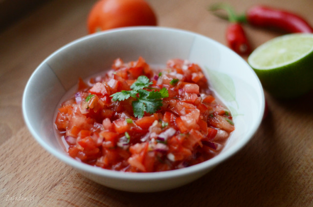 salsa pomidorowa kuchnia meksykańska