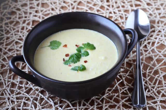 pikantna zupa z kukurydzy