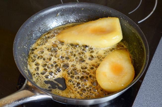 Karmelizowane gruszki