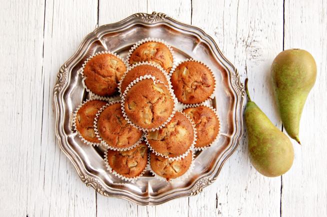 Muffiny gruszkowe