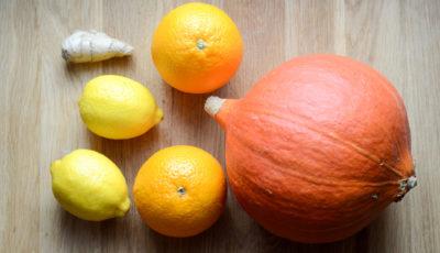 Powidła dyniowo-pomarańczowe