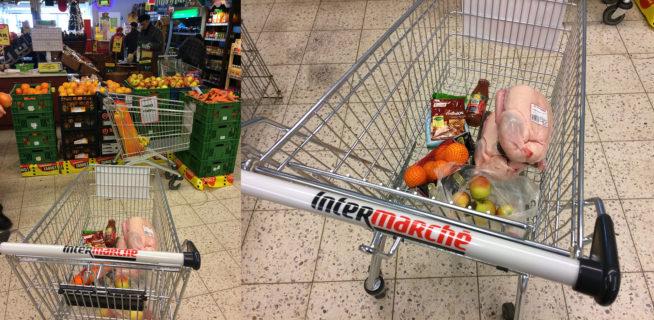 Zakupy w Intermarche w Knurowie