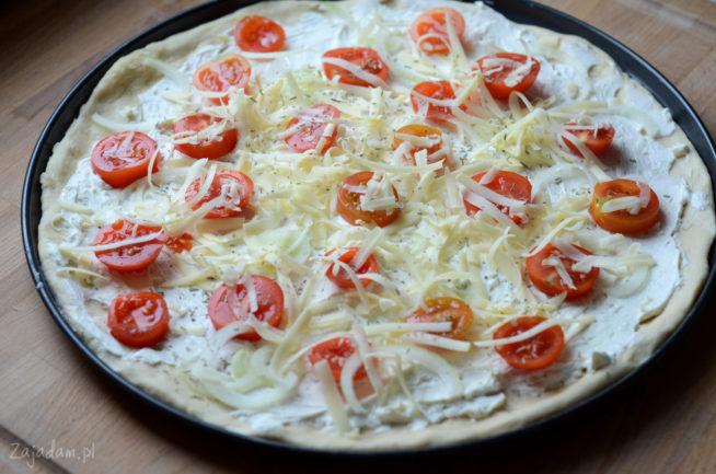 Pizza z mascarpone