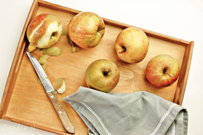 Tarta z jabłkami i żurawiną