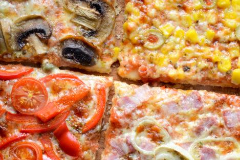 Pizza quatro - 4 smaki