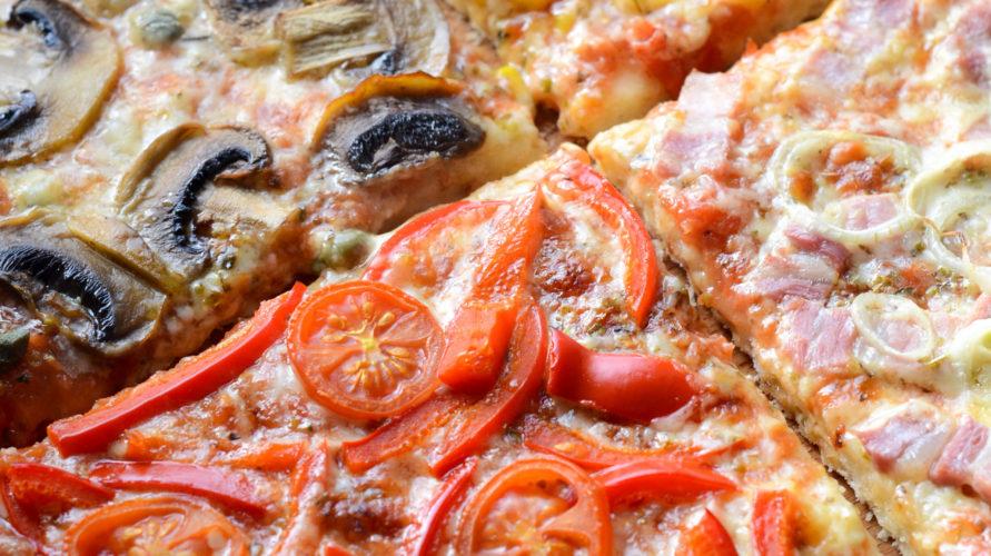 Pizza cztery smaki