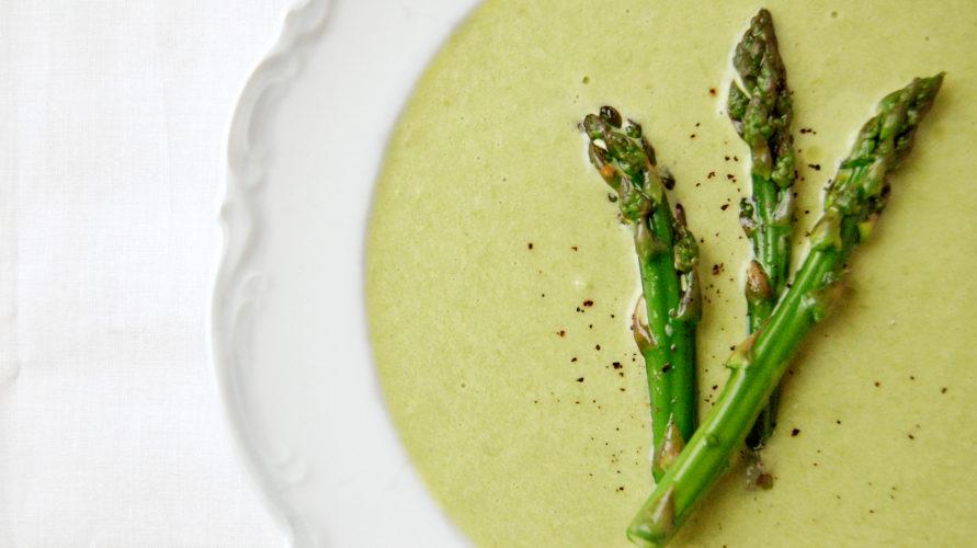 Zupa Z Zielonych Szparagow