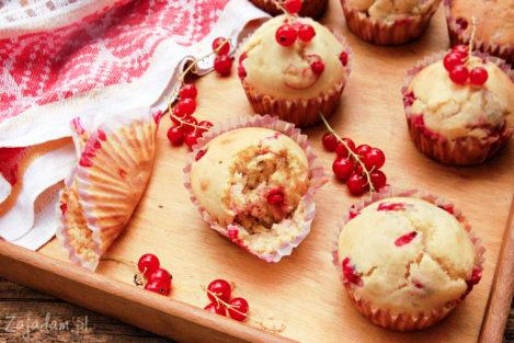 Muffiny z porzeczkami