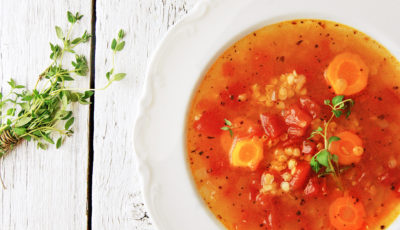Zupa z czerwoną soczewicą
