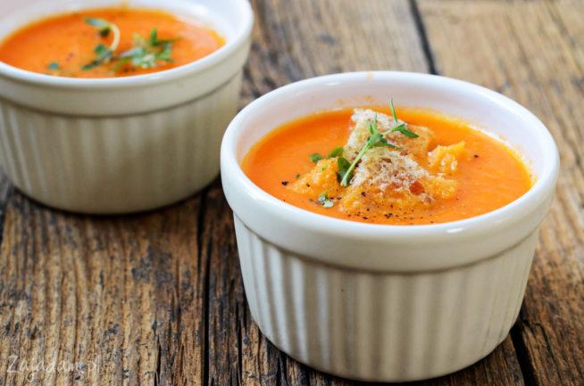 Zupa-krem z pomidorów