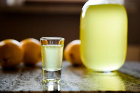 Limoncello - przepis na likier cytrynowy