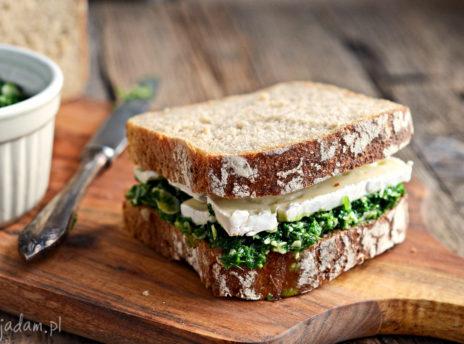 Kanapki z serem i pesto