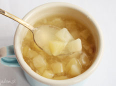 Domowy kisiel gruszkowy