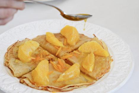 Naleśniki z pomarańczą