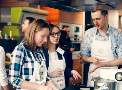 Warsztaty piecznie chleba pieczywo - Akademia Smaku Bosch
