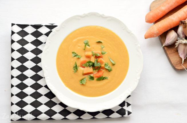 Zupa-krem z batatów