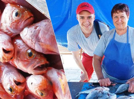 Malta, Marsaxlokk - Targ rybny