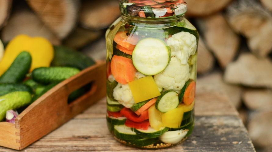 Piklowane warzywa