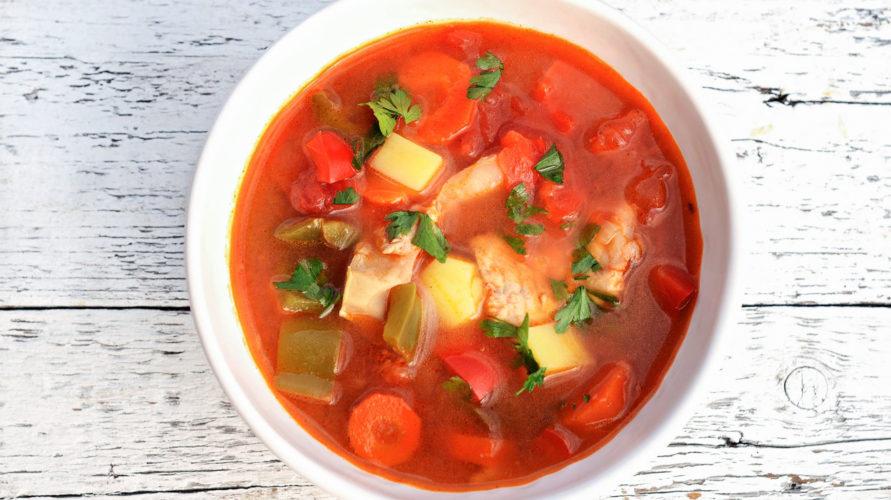 Węgierska zupa halaszle