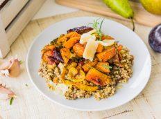 Kaszotto z kurkami i warzywami