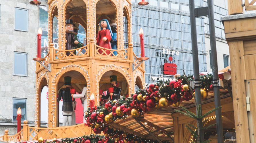 Jarmark świąteczny w Bochum
