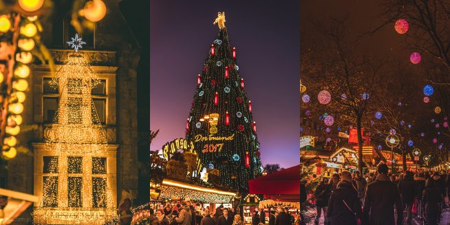 Jarmark świąteczny Niemcy Dortmund