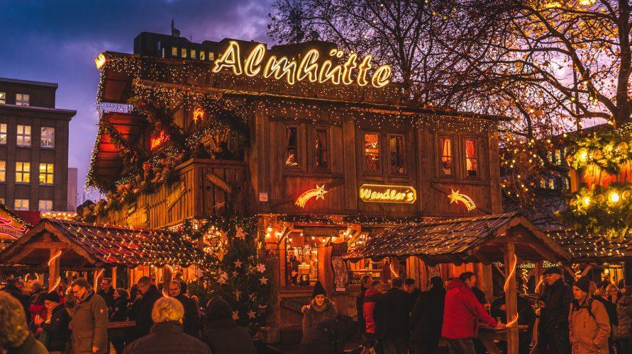 Jarmark świąteczny w Dortmundzie
