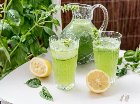Lemoniada bazyliowa