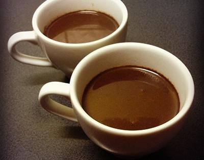 gorąca czekolada na walentynki