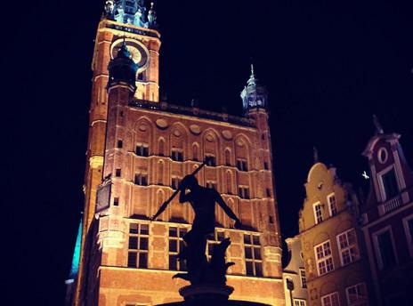 Gdańsk starówka neptun