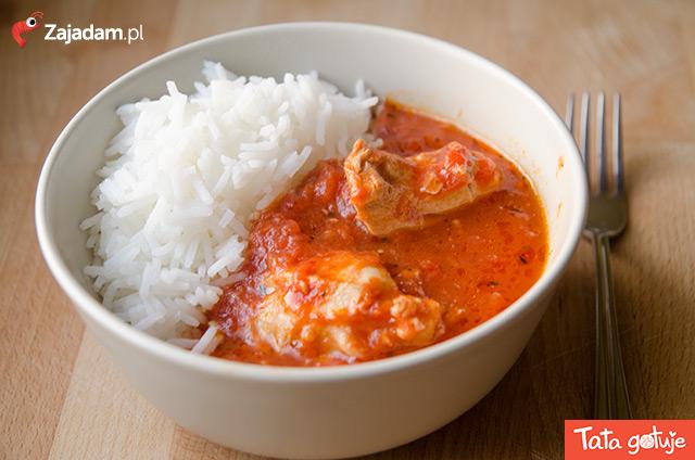 Kurczak Duszony W Pomidorach Zajadam Pl