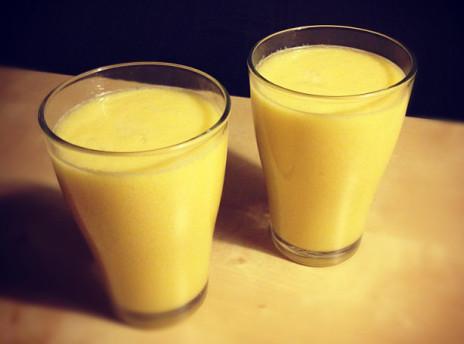 smoothie ananas gruszka pomarancza