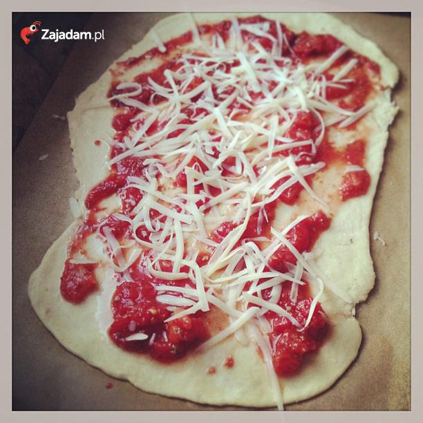pizza szybka lekkostrawna
